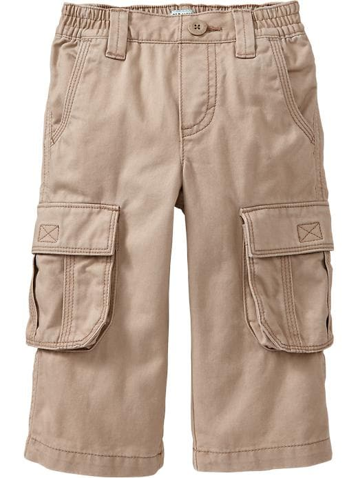 Old Navy Twill Pull On Cargos For Baby - Rolled oats