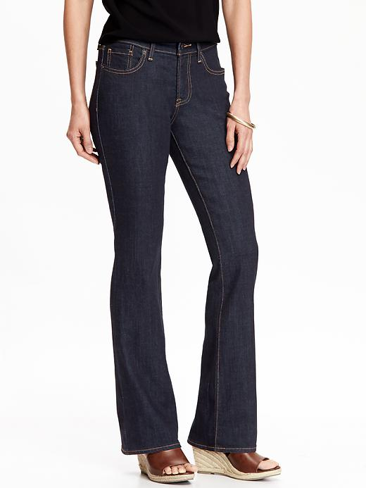 Old Navy Women's The Dreamer Boot Cut Jeans - New rinse