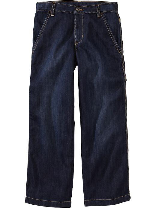 Old Navy Boys Painter Style Jeans - Dark wash