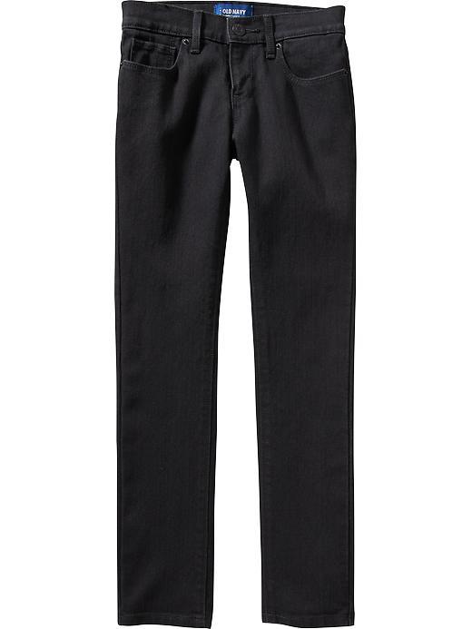 Old Navy Girls Black Skinny Jeans - Black