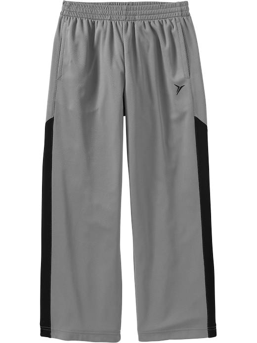 Boys Active By Old Navy Mesh Pants - Gray stone - Old Navy Canada