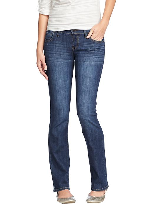 Old Navy Women's The Diva Boot Cut Jeans - Blue reeds - Old Navy Canada