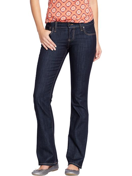 Old Navy Women's The Diva Boot Cut Jeans - Rinse - Old Navy Canada