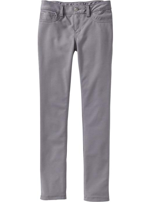 Old Navy Girls Ponte Knit Super Skinny Pants - Horseshoe