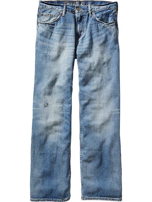 Old Navy Men's Premium Loose Fit Jeans - Blue vintage - Old Navy Canada
