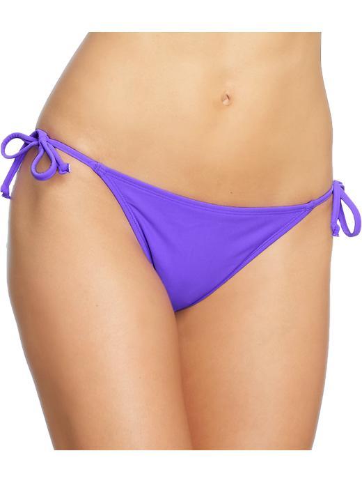 Old Navy Women's String Bikini Bottoms - Purple heart - Old Navy Canada