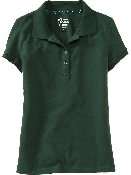 Old Navy Girls Pique Uniform Polos - Pining away