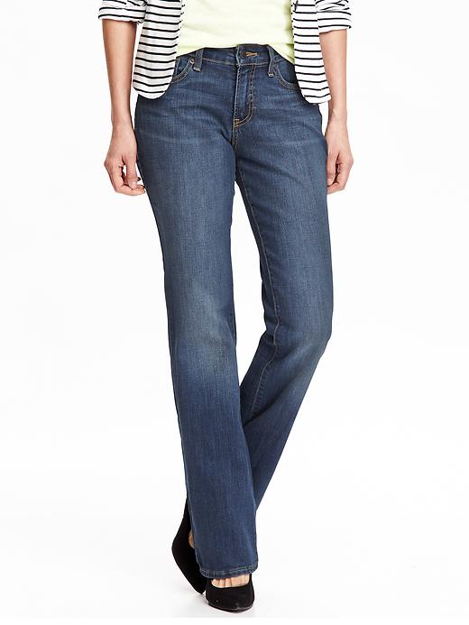 Old Navy Women's The Dreamer Boot Cut Jeans - Blue reeds