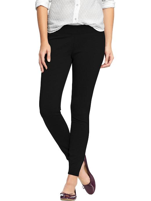 Old Navy Women's Pull On Ponte Knit Pants - Black jack - Old Navy Canada