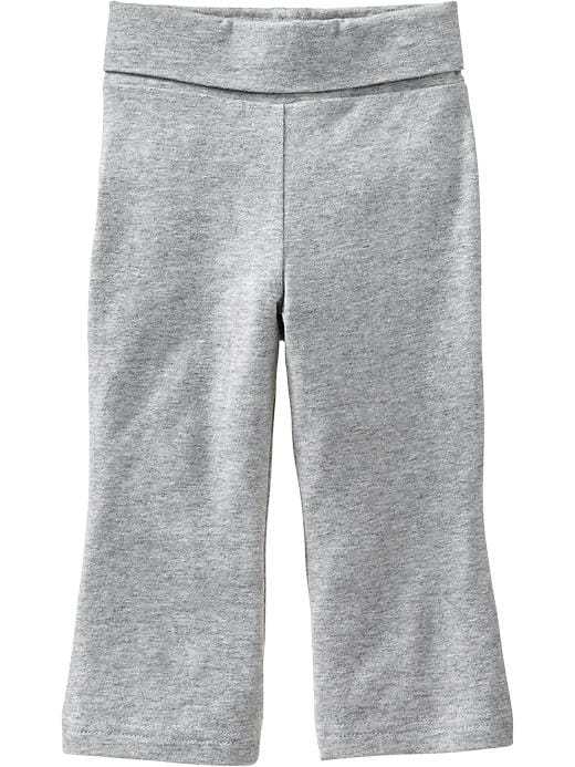 Old Navy Fold Over Jersey Pants For Baby - Heather gray - Old Navy Canada