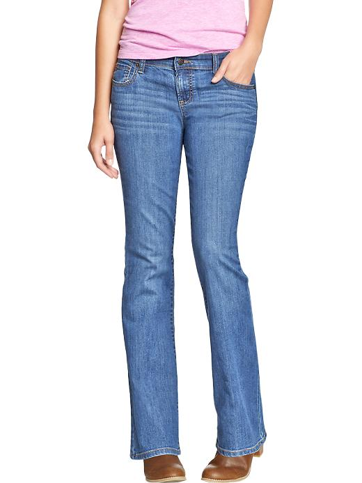 Old Navy Women's The Diva Boot Cut Jeans - Acadia - Old Navy Canada