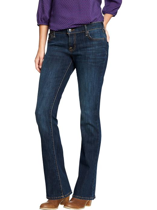 Old Navy Women's The Flirt Boot Cut Jeans - Crater lake - Old Navy Canada