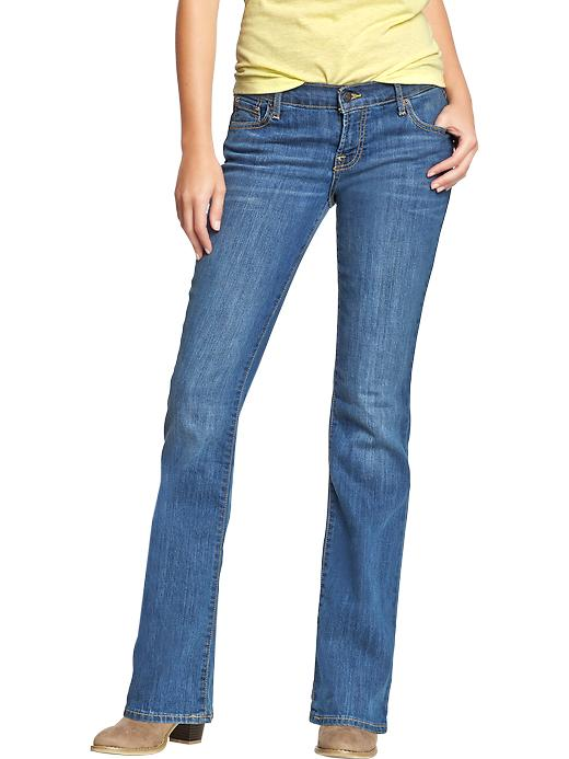 Old Navy Women's The Flirt Boot Cut Jeans - Blue reeds - Old Navy Canada