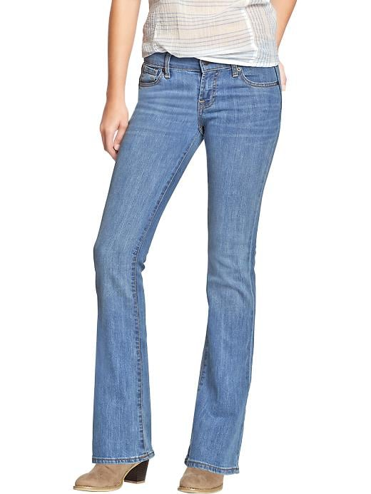 Old Navy Women's The Flirt Boot Cut Jeans - Acadia - Old Navy Canada