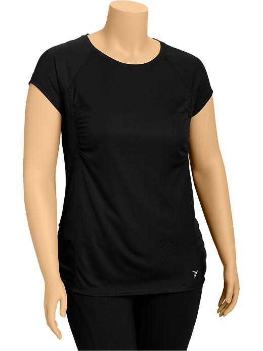 Women's Plus Active By Old Navy Running Tops - Black jack - Old Navy Canada