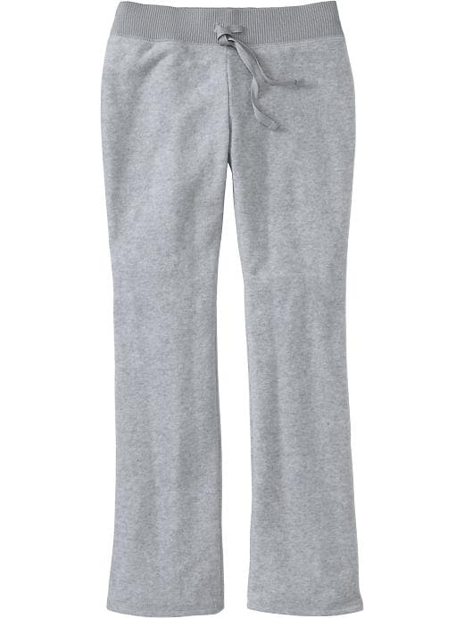 Old Navy Girls Micro Performance Fleece Sweatpants - Lt heather grey