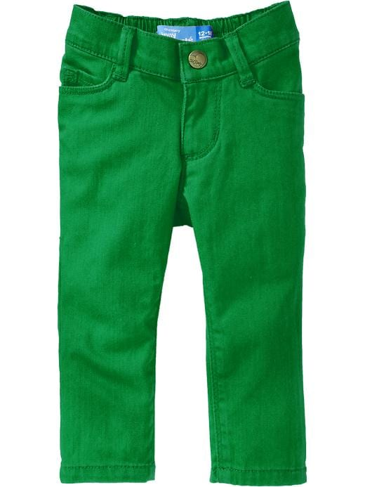 Old Navy Pop Color Skinny Jeans For Baby - Joleen green
