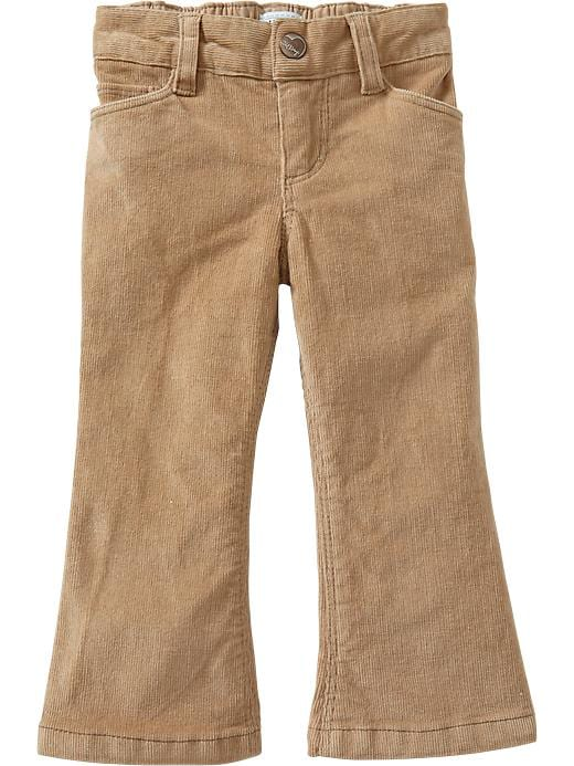 Old Navy Boot Cut Cords For Baby - Rolled oats