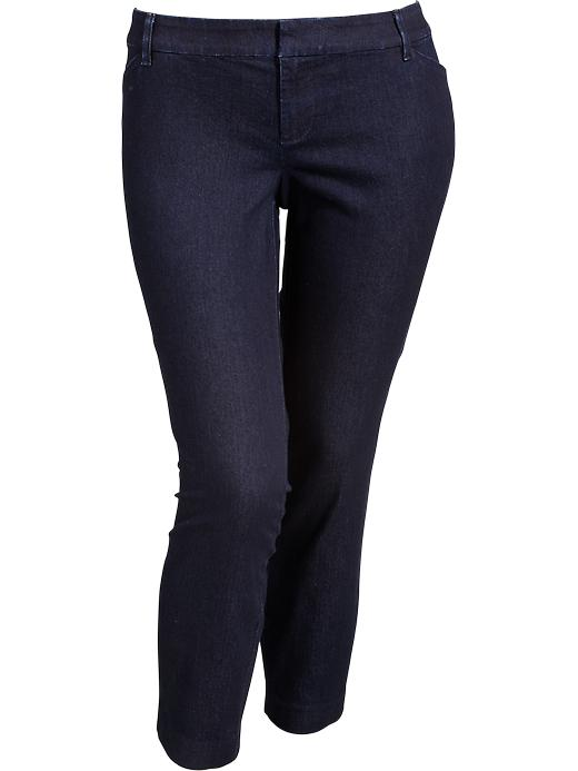 Old Navy Women's Plus Denim Ankle Pants - Rinse - Old Navy Canada