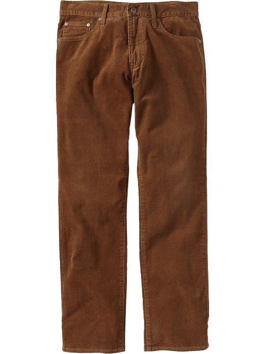 Old Navy Men's Slim Fit Cords - Rye brown