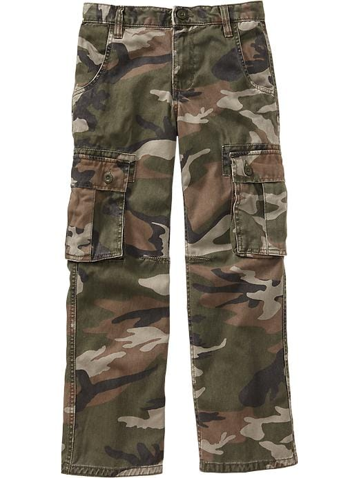 Old Navy Boys Authentic Cargos - Authentic camouflage - Old Navy Canada