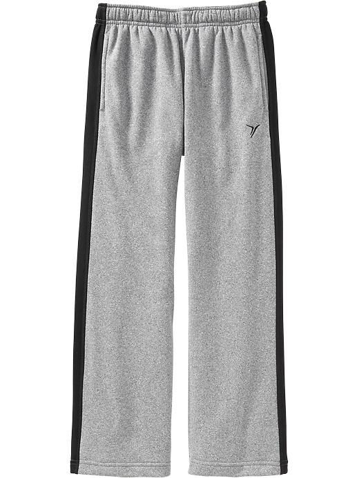 Boys Active By Old Navy Performance Fleece Track Pants - Lt heather grey - Old Navy Canada