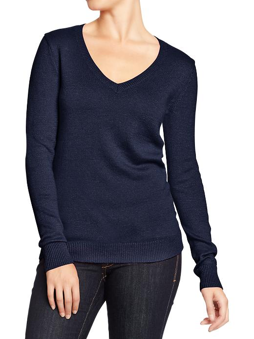 Old Navy Womens Classic V Neck Sweaters Goodnight Nora Brand