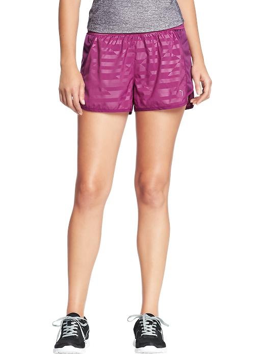 """Women's Active By Old Navy Side Mesh Running Shorts (3"""") - Cambridge purple poly"""