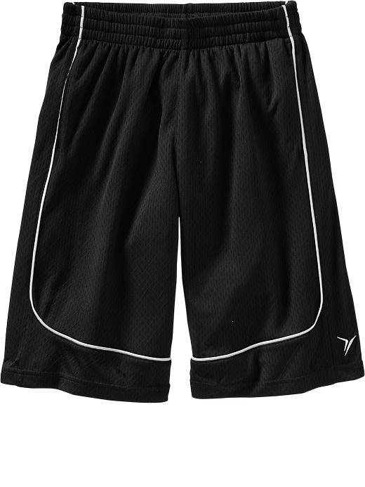 Boys Active By Old Navy Basketball Shorts - Black jack - Old Navy Canada