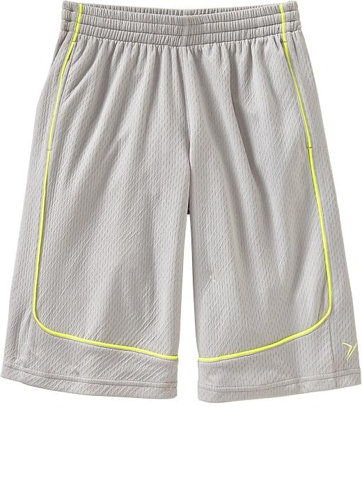 Boys Active By Old Navy Basketball Shorts - Grayscale - Old Navy Canada