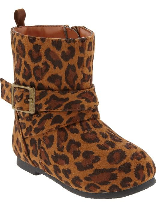Old Navy Leopard Print Boots For Baby - Brown leopard - Old Navy Canada