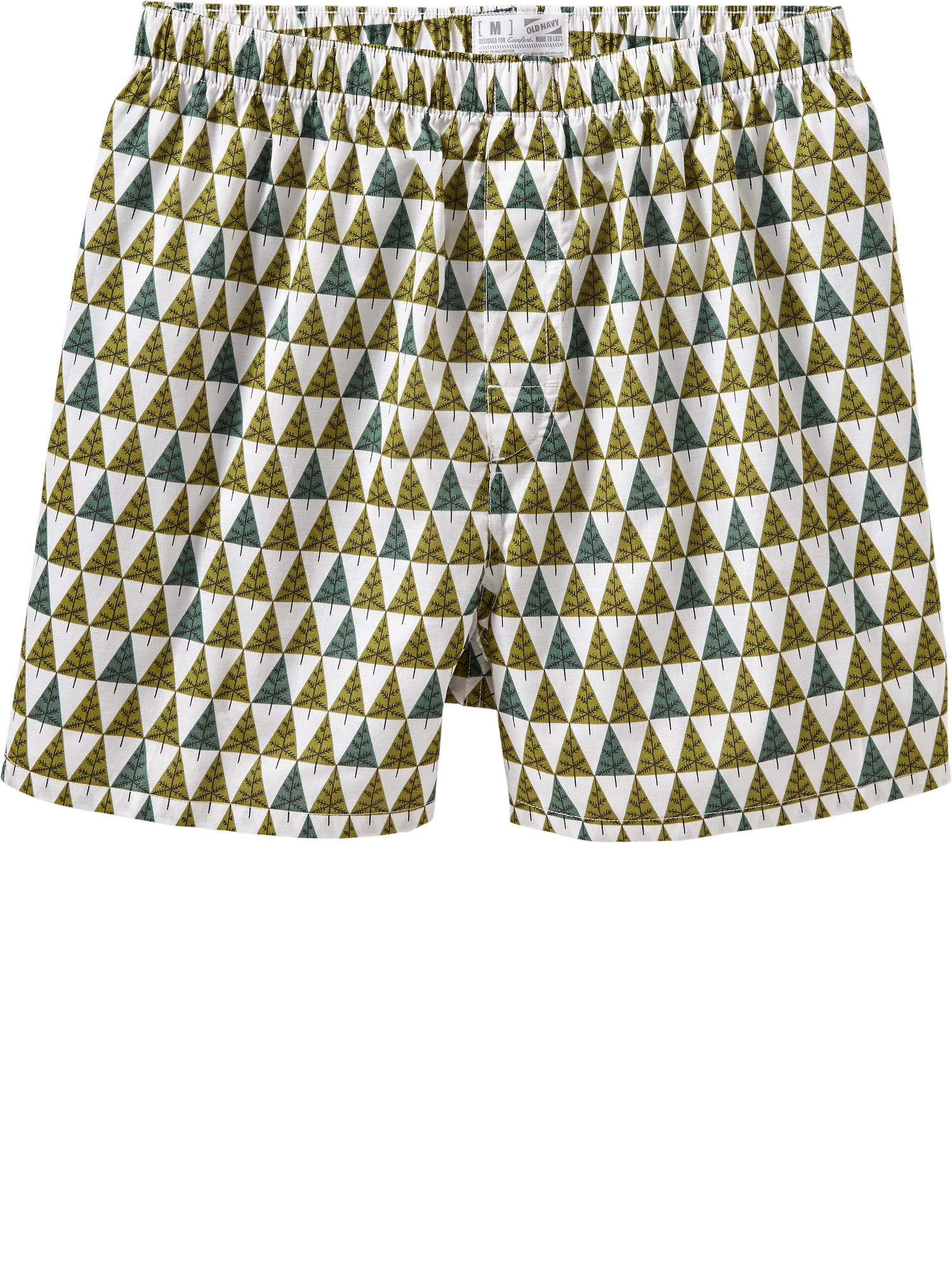 Old Navy Men's Patterned Boxers - Christmas tree
