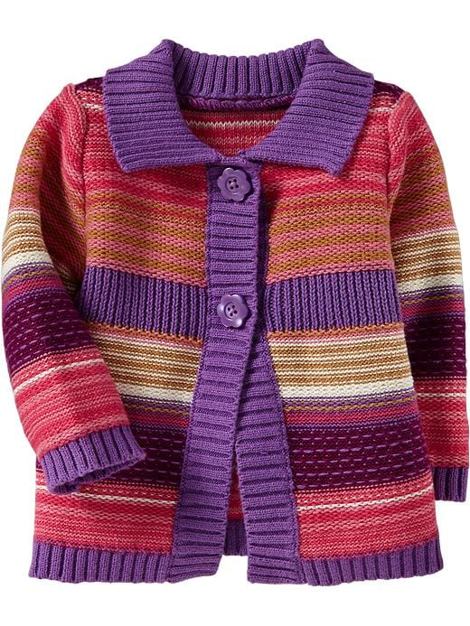 Old Navy Multi Stripe Cardis For Baby - Multi stripe