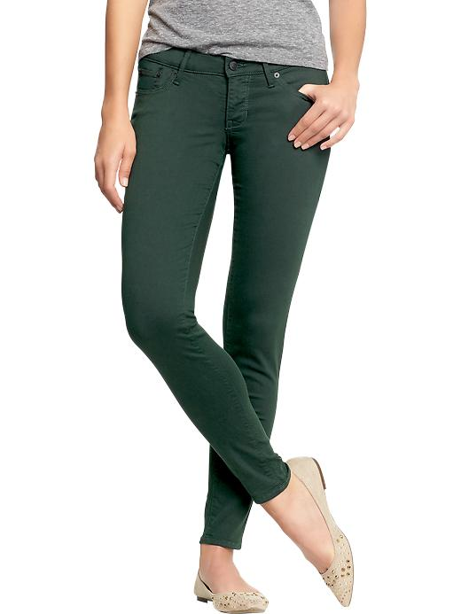 Old Navy Women's The Rockstar Color Wash Jeans - Green - Old Navy Canada