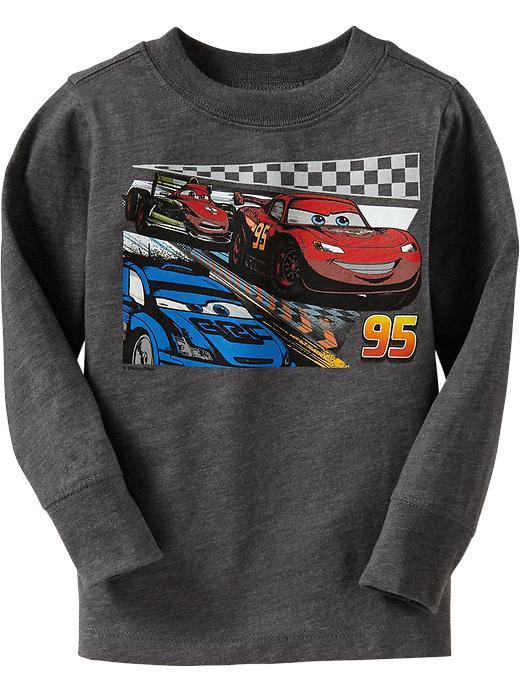 Old Navy Disney/Pixar Cars Tees For Baby - Heather charcoal