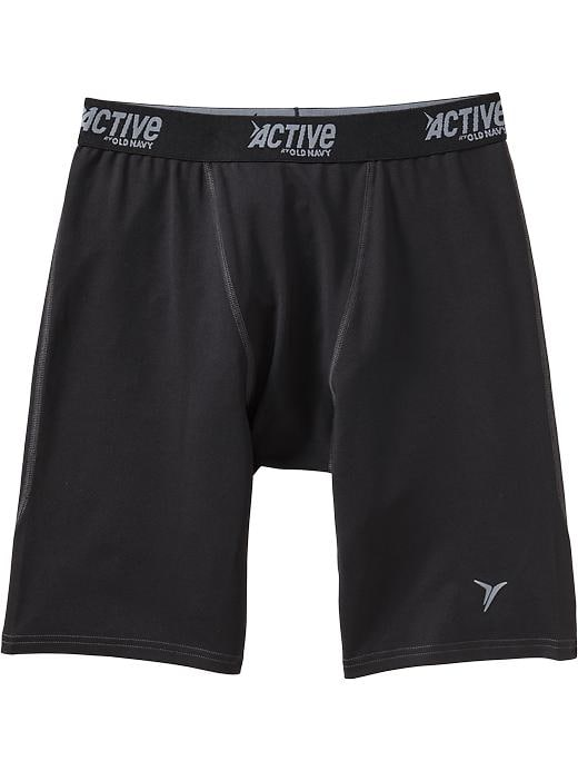"Men's Active By Old Navy Compression Shorts (8 1/2"") - Black jack - Old Navy Canada"