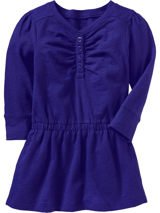 Old Navy Drop Waist Jersey Dresses For Baby - Bright nite 335
