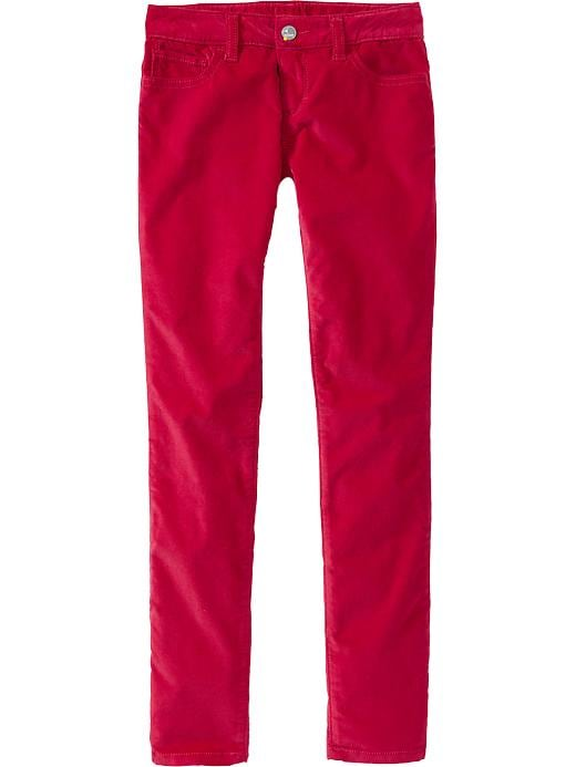 Old Navy Girls Super Skinny Velveteen Pants - Madder red - Old Navy Canada