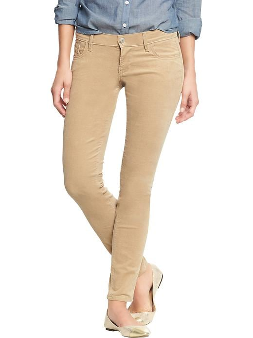 Old Navy Women's The Rockstar Cords - Rolled oats