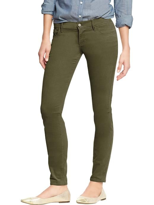 Old Navy Women's The Rockstar Cords - Forest floor