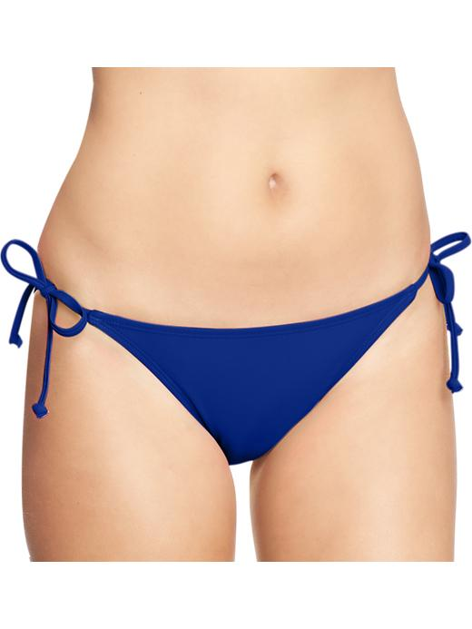 Old Navy Women's String Bikini Bottoms - Absolute blue - Old Navy Canada