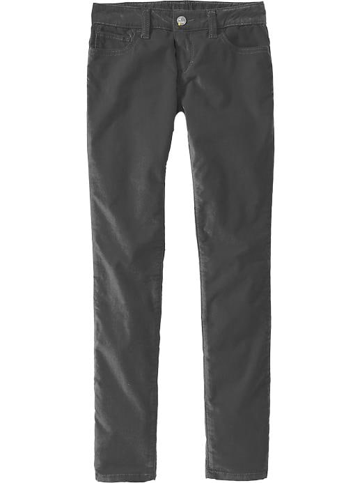 Old Navy Girls Super Skinny Velveteen Pants - Carbon - Old Navy Canada