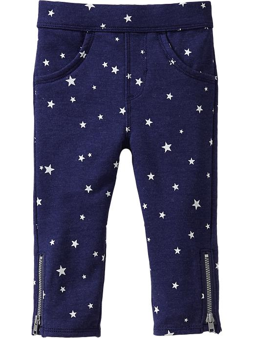 Old Navy Printed Terry Side Zip Pants For Baby - Bright nite 335 - Old Navy Canada