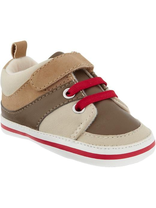 Old Navy Color Blocked Sneakers For Baby - Robbie red
