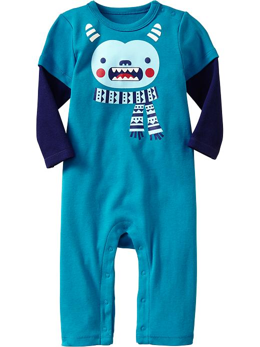 Old Navy 2 In 1 Graphic One Pieces For Baby - Waikiki waters - Old Navy Canada