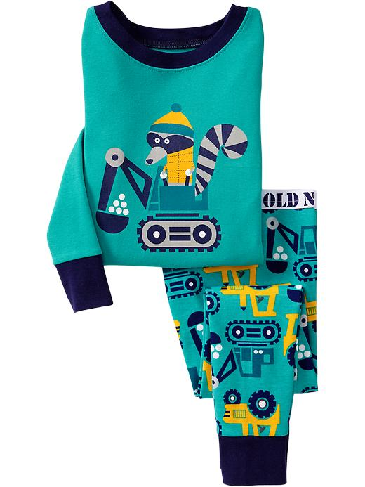 Old Navy Raccoon/Snow Plow Pj Sets For Baby - Tropical breeze - Old Navy Canada