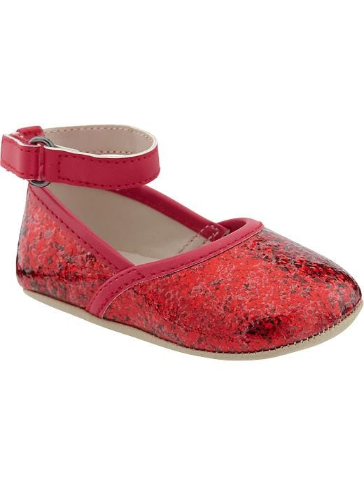 Old Navy Glitter Covered Shoes For Baby - Ruby pink - Old Navy Canada