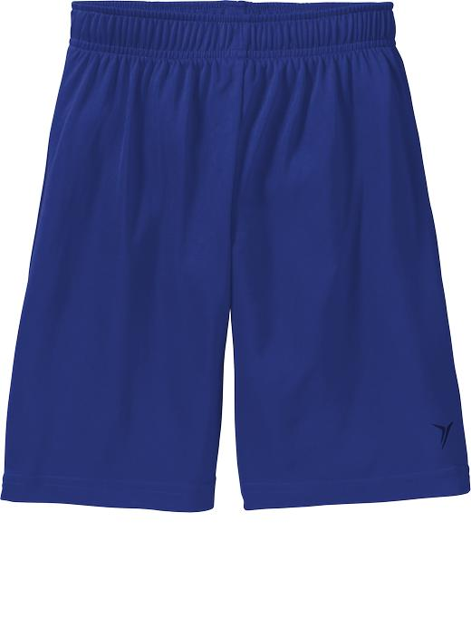 Boys Active By Old Navy Solid Shorts - Blue bloods polyester - Old Navy Canada