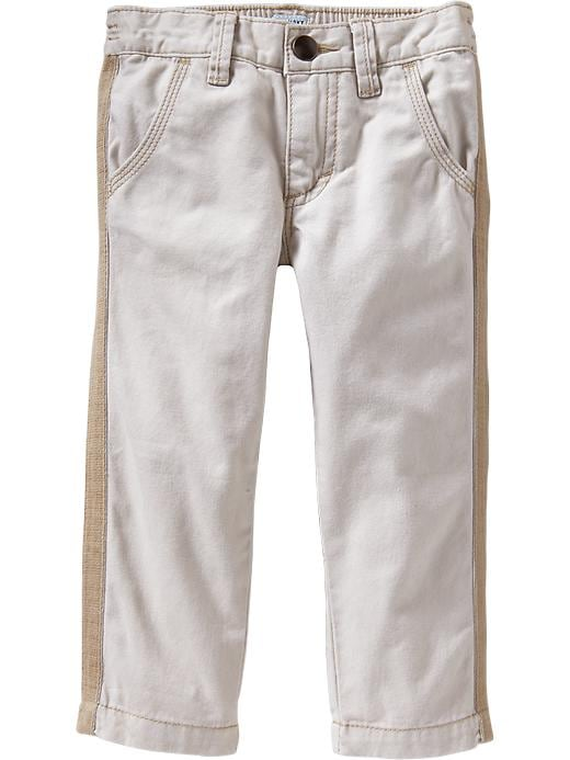 Old Navy Tuxedo Stripe Twill Pants For Baby - Stone carving - Old Navy Canada