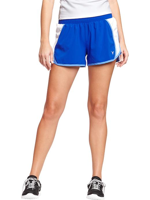 "Women's Active By Old Navy Side Mesh Running Shorts (3"") - Medium blue - Old Navy Canada"